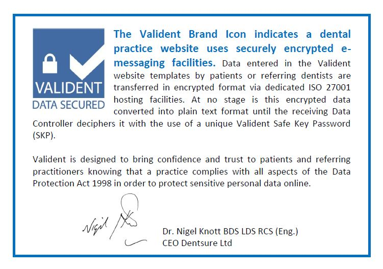 Dentsure - Valident Brand Value